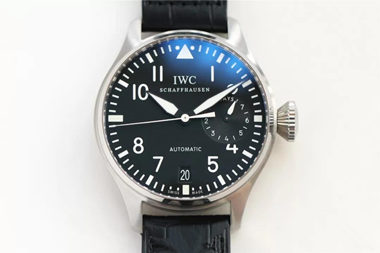 replica iWC pilot black watch